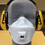 Hengityksensuoja in FFP3