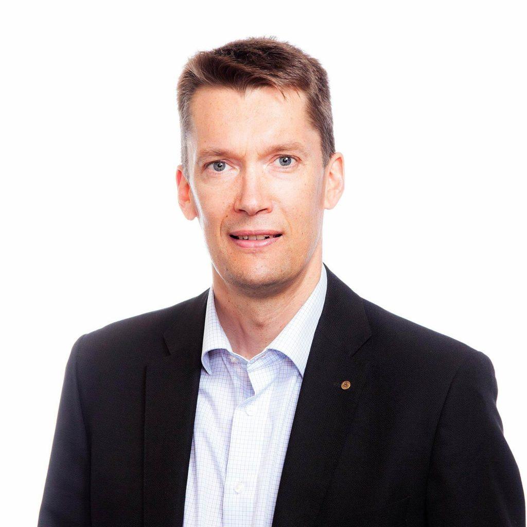 Kasvokuva Janne Märkälä.